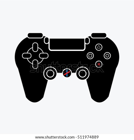 playstation gamepad console icon