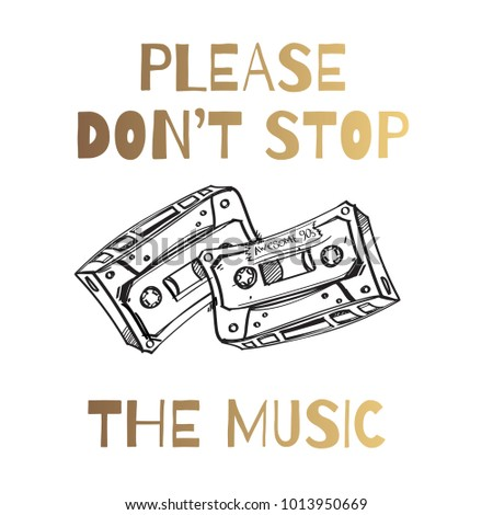 please don't stop the music