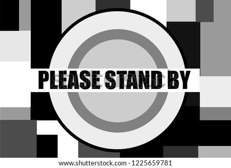 please stand by vintage