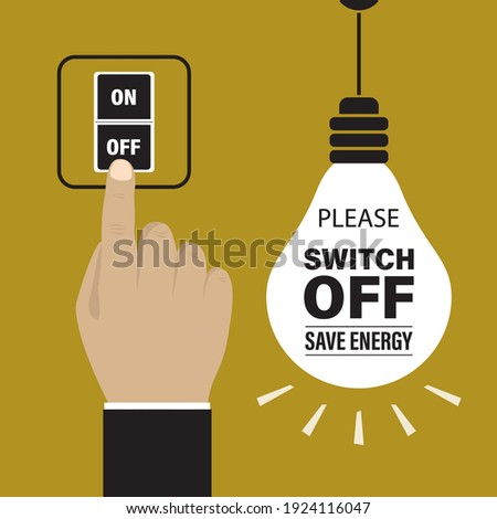 please switch off electricity