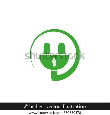 plug icon  plug icon eps10