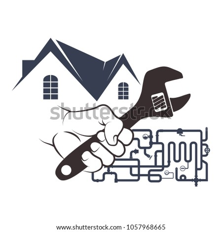 Plumbing and running water in the house design