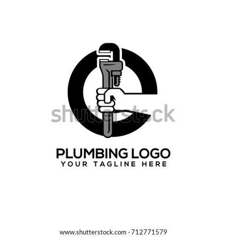 Plumbing Logo Vector Art