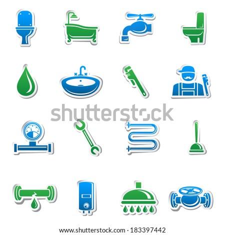 plumbing tools sticker