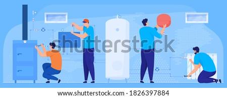 plumbing work repair of