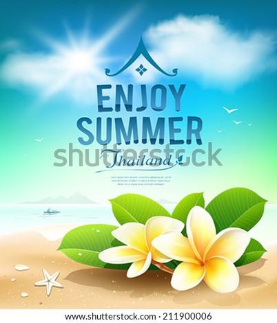 Plumeria Flowers, Enjoy Summer...