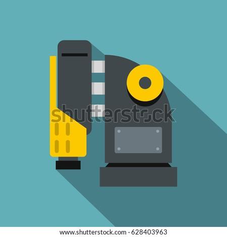 pneumatic hammer machine icon