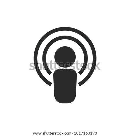Podcast Vector Icon