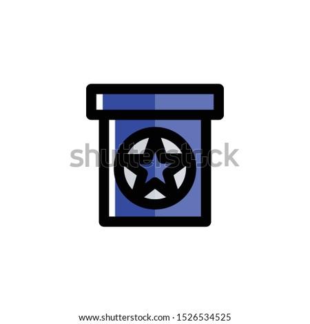 Podium Icon , Election Logo , Politics Symbol .