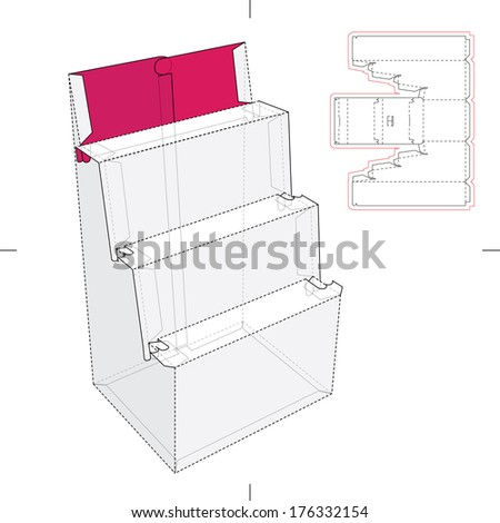 point of product display stand