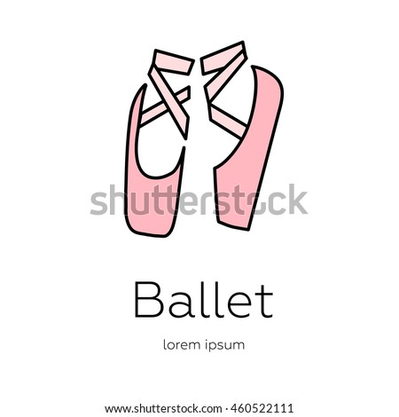 pointe shoes   logo made in