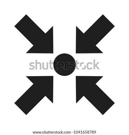Pointer black center