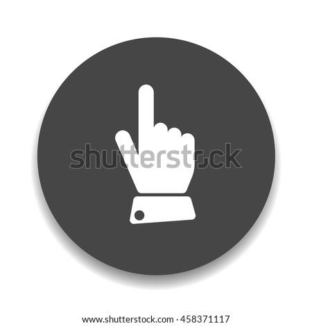 pointer hand sign