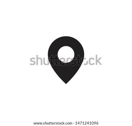 Pointer location icon vector illustration Сток-фото ©