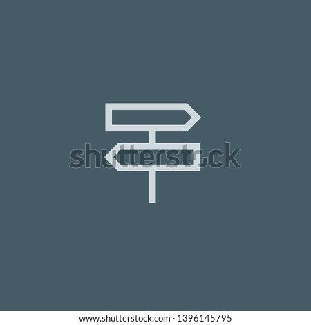 Pointer vector icon. Pointer concept stroke symbol design. Thin graphic elements vector illustration, outline pattern for your web site design, logo, UI. EPS 10.