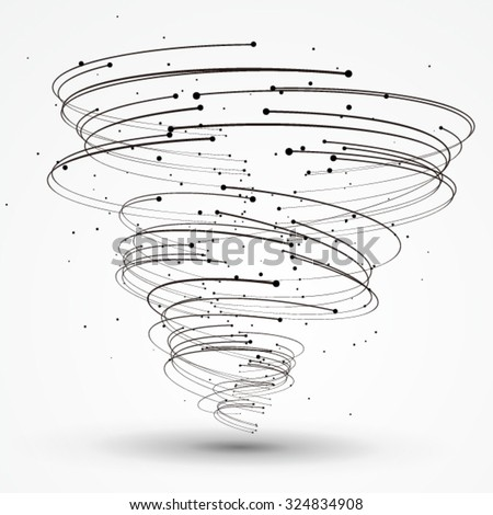 points and curves of spiral