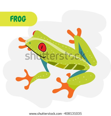 poisonous african frog