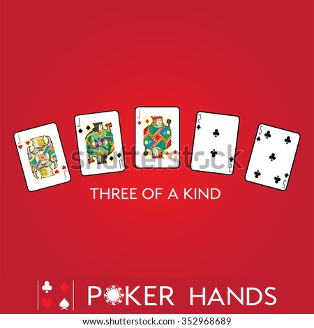 poker pair three of a kind