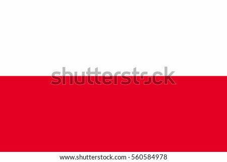 poland flag official colors