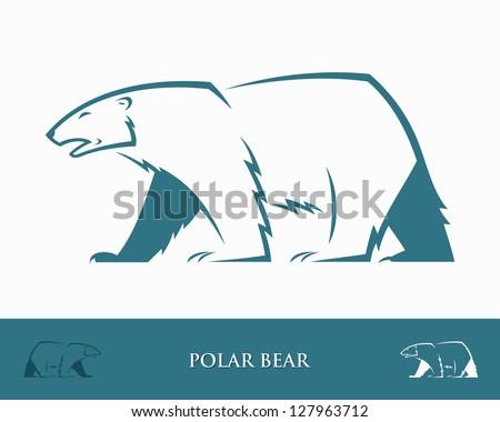 free polar bears mascot vector - download free vector art, stock