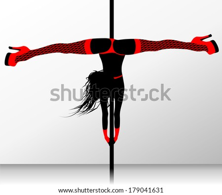 pole dance erotic striptease