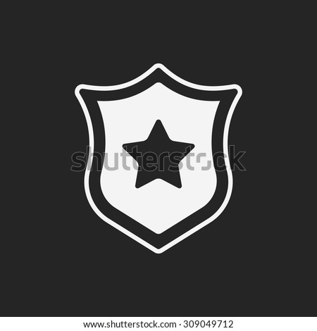 police badge icon #309049712