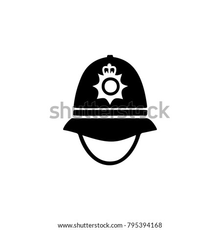 police cap in england icon