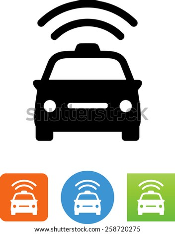 Police Car Symbol For Download. Vector Icons For Video ...