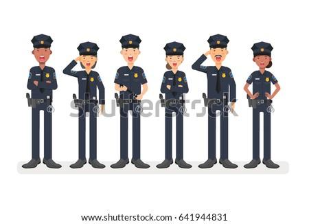 police in uniformpolice man