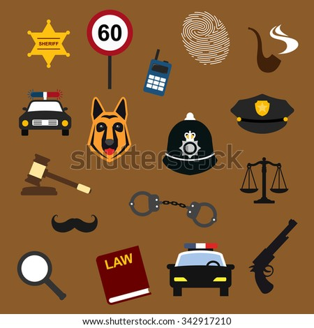 police  law and justice flat