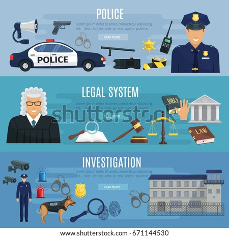 police  legal system and