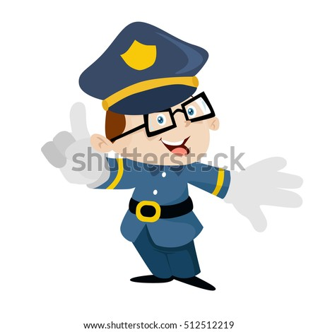 police security vector