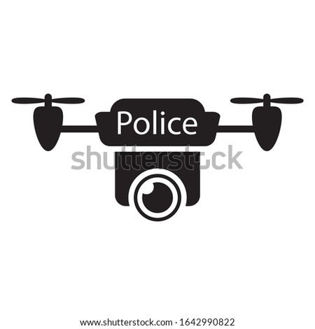 Police Small remotely operated Unmanned Aerial Systems Concept,