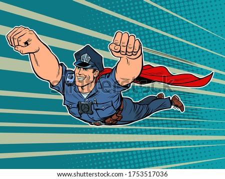 police superhero the policeman