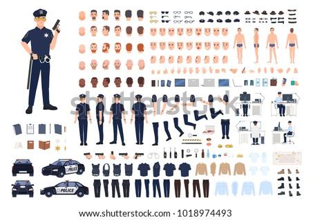 policeman creation set or diy