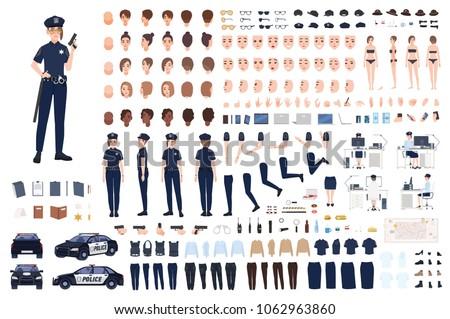 policewoman constructor or diy
