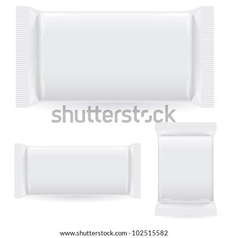 Polipropilen package. Illustration on white background