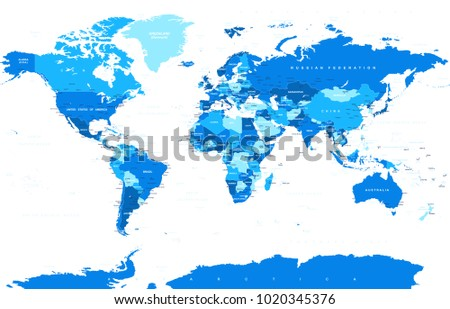 India map outline download free vector art stock graphics images political physical topographic colored world map vector illustration gumiabroncs Image collections