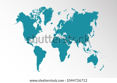 South america map vector download free vector art stock graphics political world map gumiabroncs Image collections