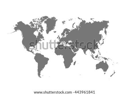 Political World Map #443961841