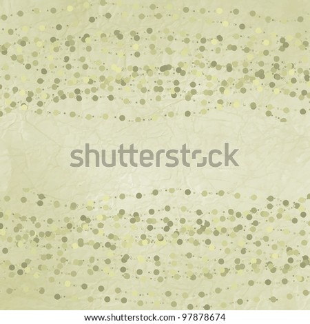 Polka dot design green template. And also includes EPS 8 vector