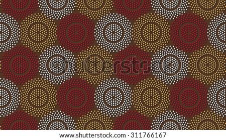 stock-vector-polka-dot-ethnic-pattern-african-motive