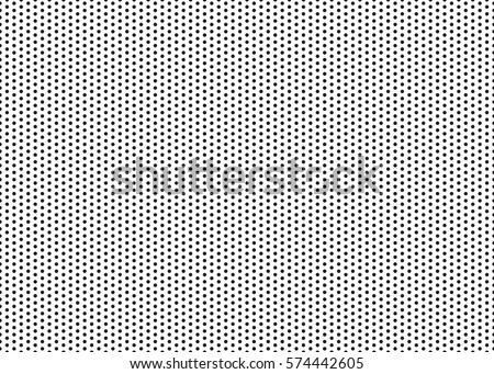 Polka dot pattern vector.