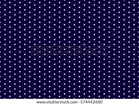 Polka dot pattern vector.