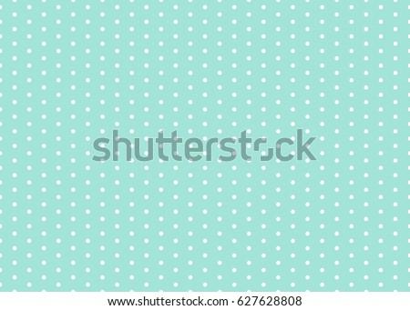 Polka dot pattern vector. Baby background. Eps10.