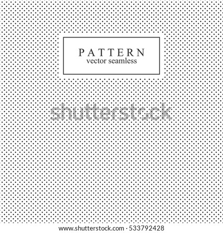 Polka dot seamless vector pattern.