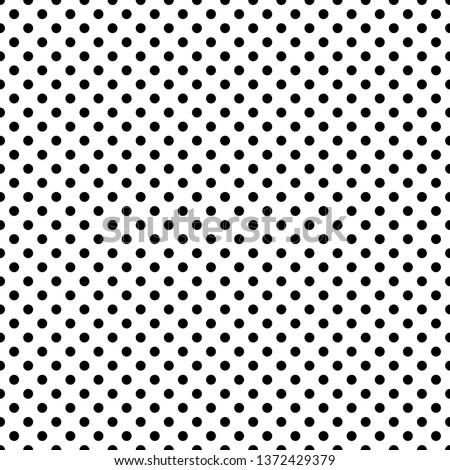 Polka Dots Seamless Pattern - Classic polka dot repeating pattern design