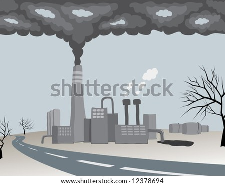 polluting ecology factory