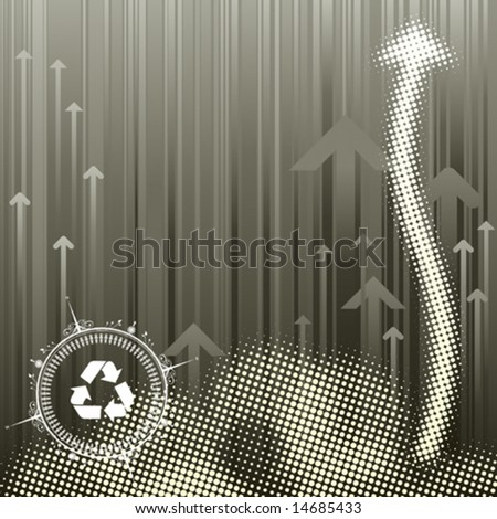 Pollution Abstract halftone background, vector illustration layers file.