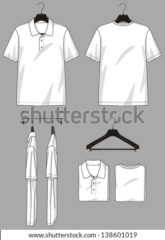 Polo Neck And T Shirt In Different Types For Clothing